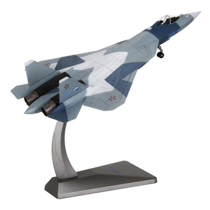 1:72 Russian Su-57 Fighter Aircraft Military Model for Lover Collectible