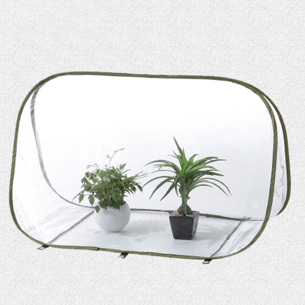 Foldable Winter font b Garden b font Warm Cover Greenhouse Triangle Design Fower Shrub Protecting Bag