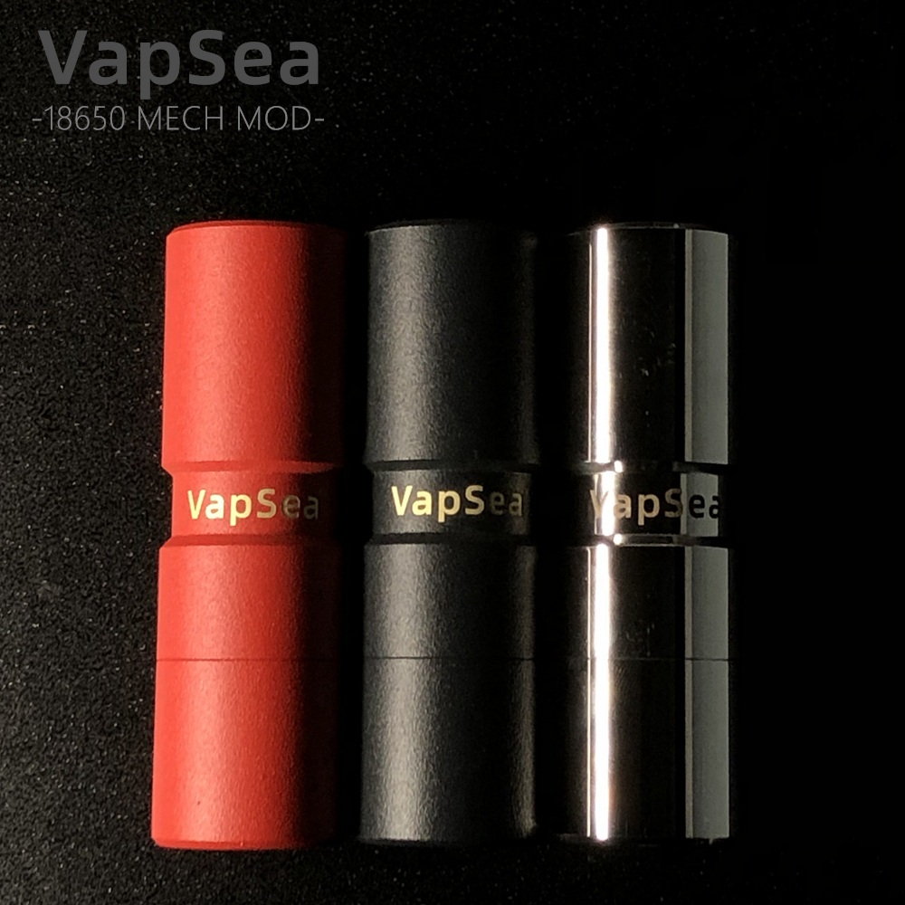 Original VapSea 26mm Diameter 18650 Mod Kit Battery Mechanical Mod For Vape Mod 18650 Electronic Cigarette Mech Mod Kit