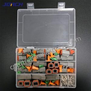 Image 3 - 250pcs Deutsch DT series Waterproof Wire Connector Kit DT06 2/3/4/6S DT04 2/3/4/6P Automotive Sealed Plug with pins box