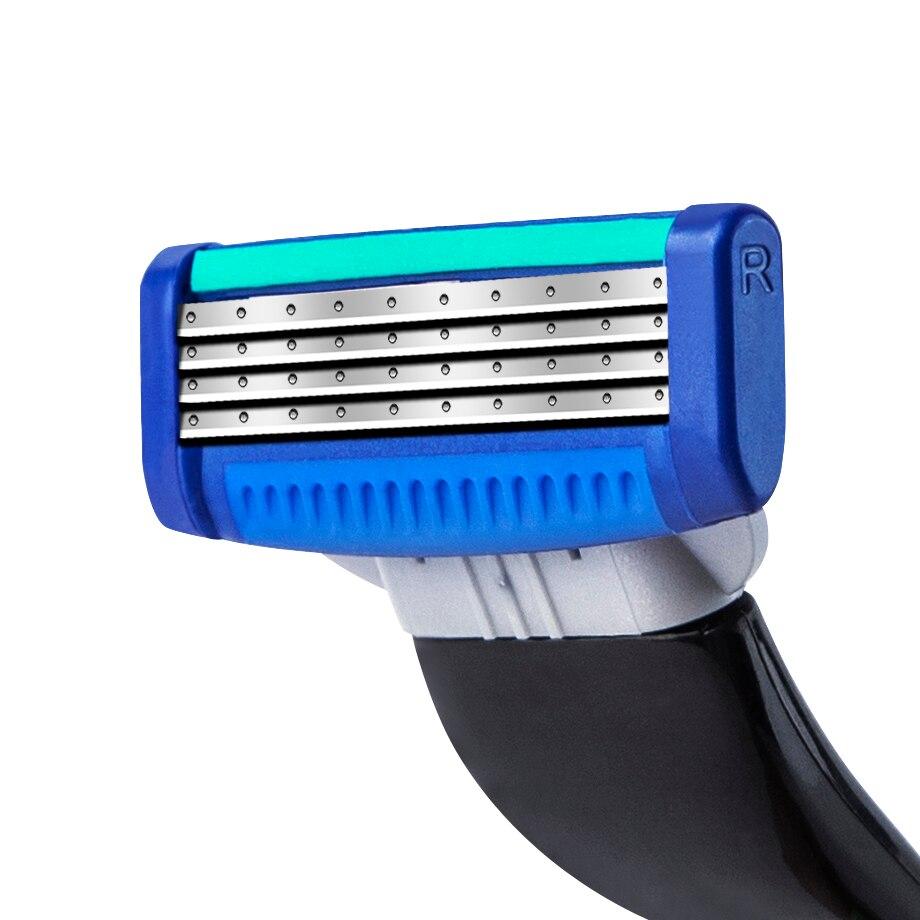 сменные картриджи для бритья rzr iguetta gf4-0250, 4 шт.