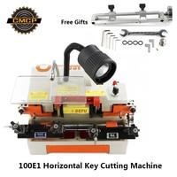 100E1 Schlüssel Duplizieren Maschine Für  Der Schlüssel 110 V/220 V Horizontale Schlüssel Schneiden Maschine Schlosser Werkzeuge Schlüssel Kopie maschine-in Schlosserbedarf aus Werkzeug bei