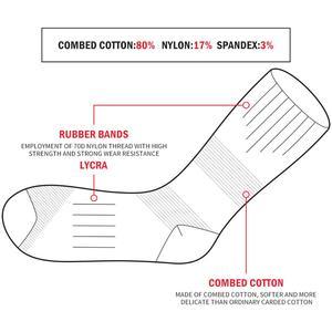Image 5 - YUEDGE 브랜드 여성 재미 귀여운 통기성 면화 쿠션 캐주얼 양말 승무원 양말 5 쌍 로트 37 45 EU