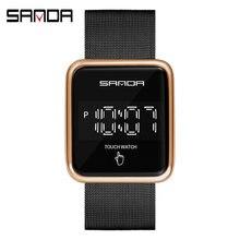 Sanda Новые повседневные мужские часы Лидирующий бренд Роскошные