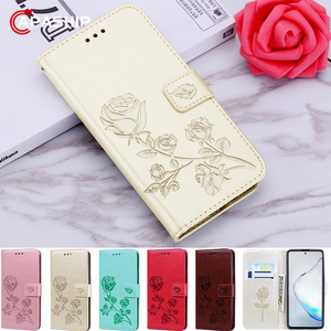 Rose Flowers Leather Flip Case For XiaoMi RedMi Note 5 6 7 8 Pro 8Pro K20 S2 4A 5A 6A 7A 8A 8T Holster Floral Wallet Cover Cases