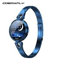 COBRAFLY smart watch bracelet women blood pressure waterproof health wristband fitness tracker watch smart heart rate monitor