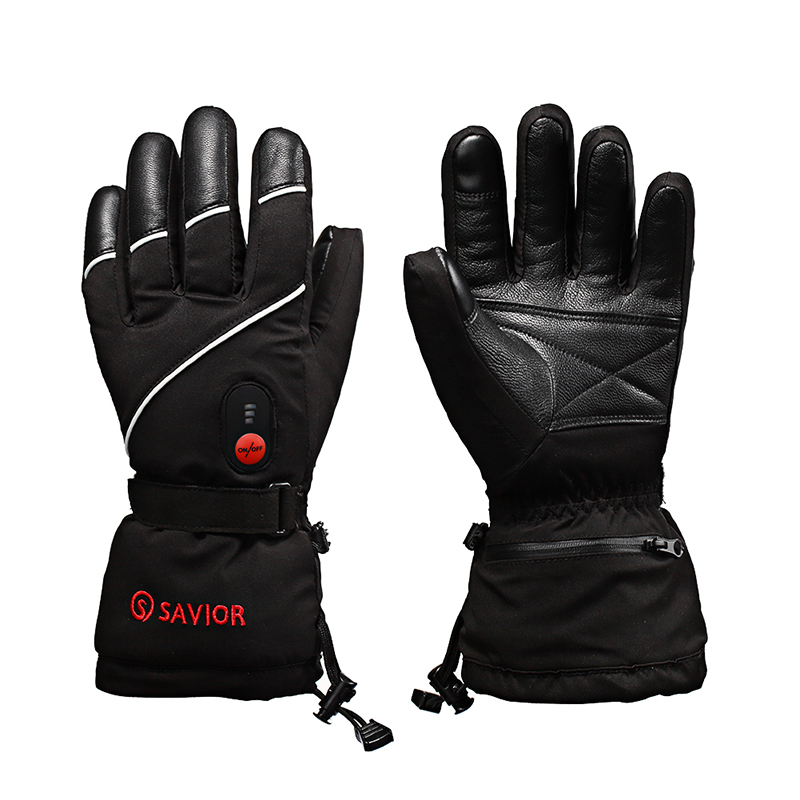 SAVIOR Heated Gloves Battery Heating Warm Ski Riding Motorcycle Gloves This Link Is For Russia Shipping