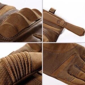 Image 4 - Тачскрин искусственная кожа мотоциклетные защитные перчатки Экипировка для гонок Байкер для езды на мотоцикле мотокросса 2020 Новинка