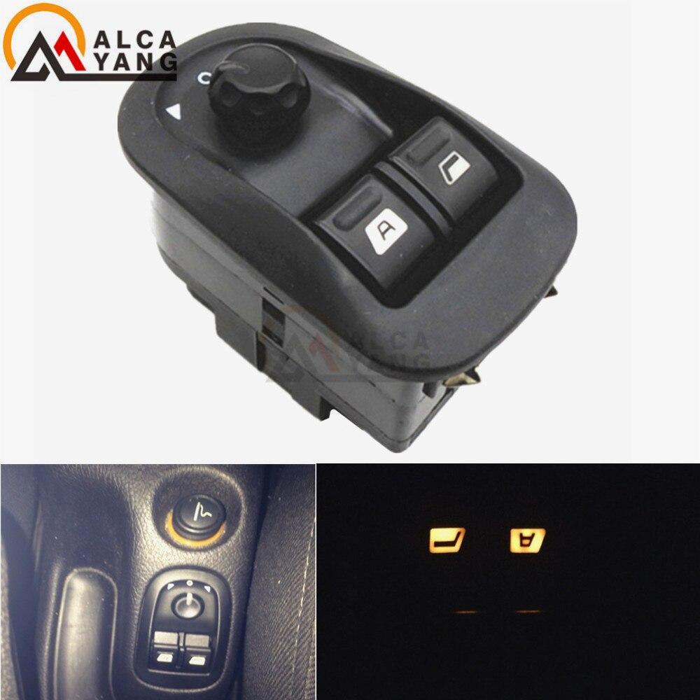Oe substituição 6554.wa 6554wa interruptor da janela mestre elétrico preto para peugeot 206 206 cc 206sw 306 206 saloon 2007-2016