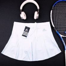 Спортивная быстросохнущая юбка половина-длина Сплит юбка-шорты для бадминтона фитнес Летняя женская марафонская Беговая юбка с шорты безопасности