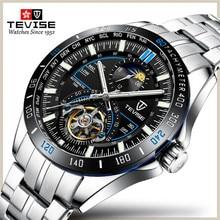 TEVISE Men Automatic Mechanical Fashion Top Brand Sport