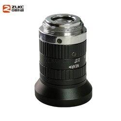 Nowy obiektyw CCTV o rozdzielczości 5.0 mln pikseli 8mm stały ogniskowa obiektywu F2.4 2/3 cal Indusrial aparatu C do montażu na niskie zniekształcenia maszyna do widzenia w Obiektywy dla kamkorderów od Elektronika użytkowa na