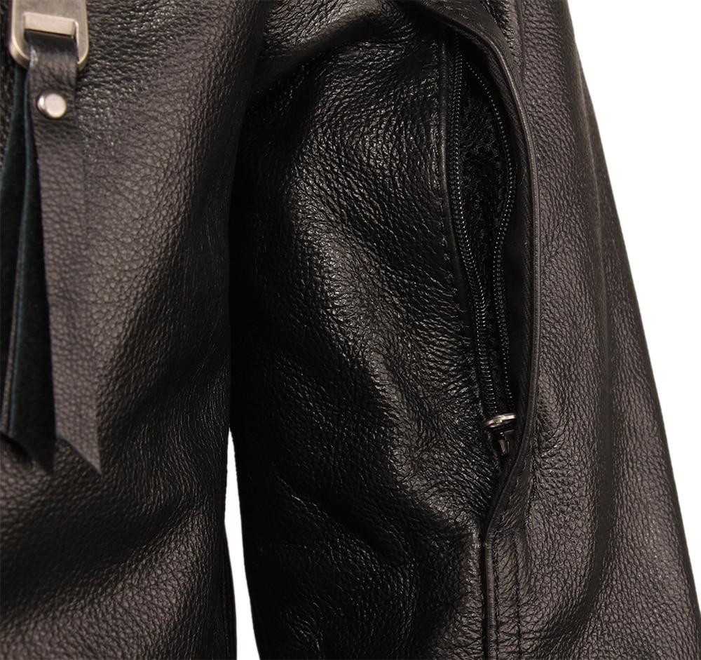 Ha30b8272ad794a8da1c477ba36607eb7F Vintage Motorcycle Jacket Slim Fit Thick Men Leather Jacket 100% Cowhide Moto Biker Jacket Man Leather Coat Winter Warm M455