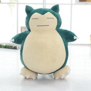 30/50cm Snorlax pluszowe zabawki Anime nowe rzadkie miękkie wypchane zwierzę lalki na prezent na boże narodzenie 12 cali