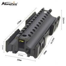 Alonefire Y3002 21 мм Rail расширение увеличение страйкбол винтовка стрелочный пистолет тактический Пикатинни Вивер лазерный прицел светильник MP5/G3 крепления