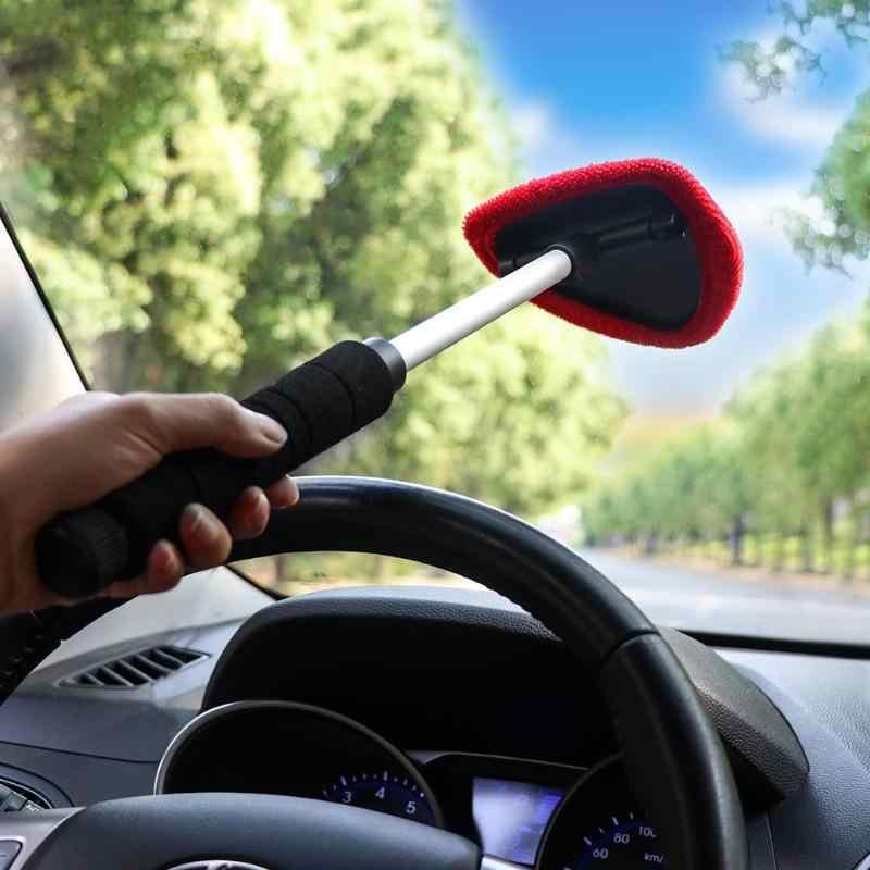 Vuool زجاج سيارة نظيفة ممسحة نظافة تصغير زجاج نافذة تنظيف فرشاة