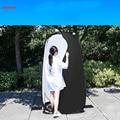 Фотография пеленания одежды сарай 190 см наружная раздевалка подвижная гардеробная Портативная Складная CD50 T07
