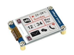Image 2 - Module e paper 1.54 pouces (B) Module daffichage e ink 200x200 rouge noir blanc trois couleurs SPI pas de rétroéclairage Ultra faible consommation