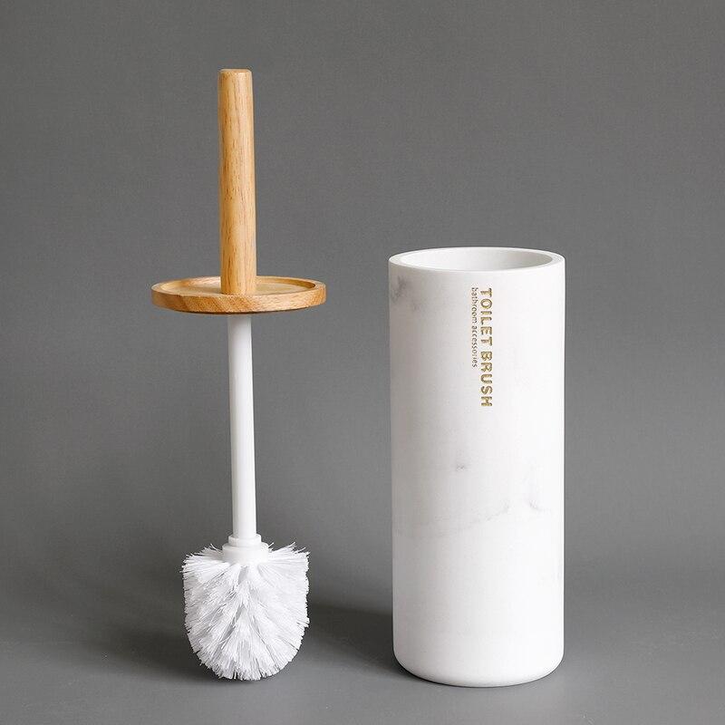 Набор аксессуаров для ванной из смолы имитация мрамора дозатор