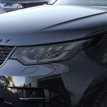 Farol do carro matiz fumado preto película protetora transparente tpu etiqueta para land rover discovery 5 l462 2017-presente acessórios
