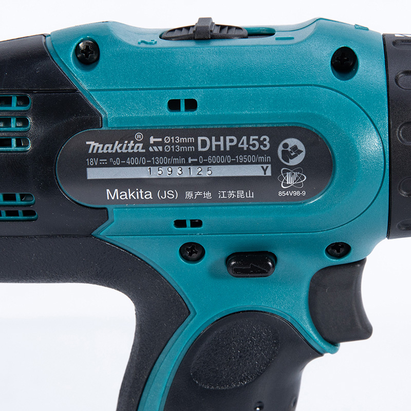 2 DHP453Z Speed Combi Body Cordless MAKITA Drill  Only 18V LXT DHP453 Li Ion