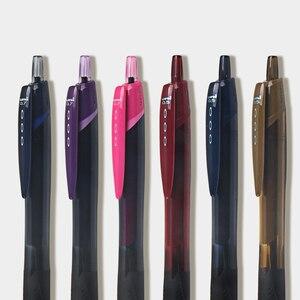 Image 5 - 6 шт./лот Mitsubishi Uni SXN 157S гладкая масляная ручка 0,7 мм наконечник JETSTREAM шариковая ручка письменные принадлежности для детей студентов
