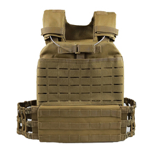 Military Tactical Vest Heavy Plate Carrier with Molle System Heavy Vest for Training