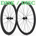 CX комплект колес для велокросса дисковый тормоз гравий карбоновый-шоссейный-велосипед бескамерная покрышка трубчатый 700c диск велосипед до...