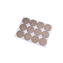 120pcs/pack Decorative Sticker Baking Thank You For Gift Label Funny Sealing Stickers DIY Work