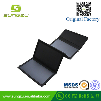 20W Folding Solar Panel USB Travel Potable Charger