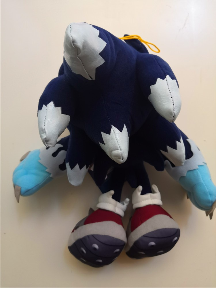 Sonic the Hedgehog Plush Dark Sonic Soft Toy Doll Stuffed An…