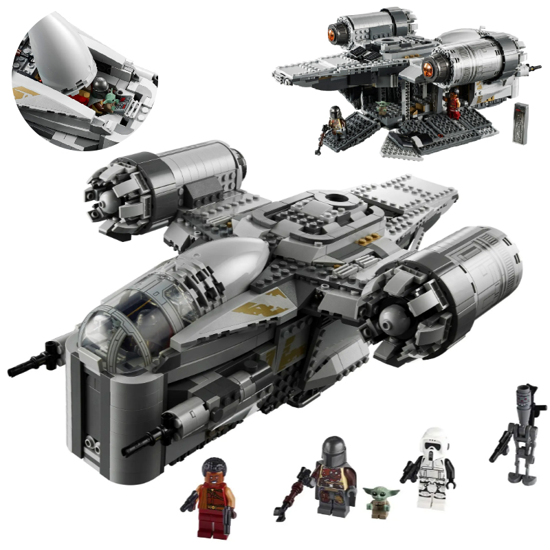 The Ucs Razor Crest By Model Compatible With 75292 Star Toys &wars Building Blocks Bricks Kids Christmas Toys Gifts