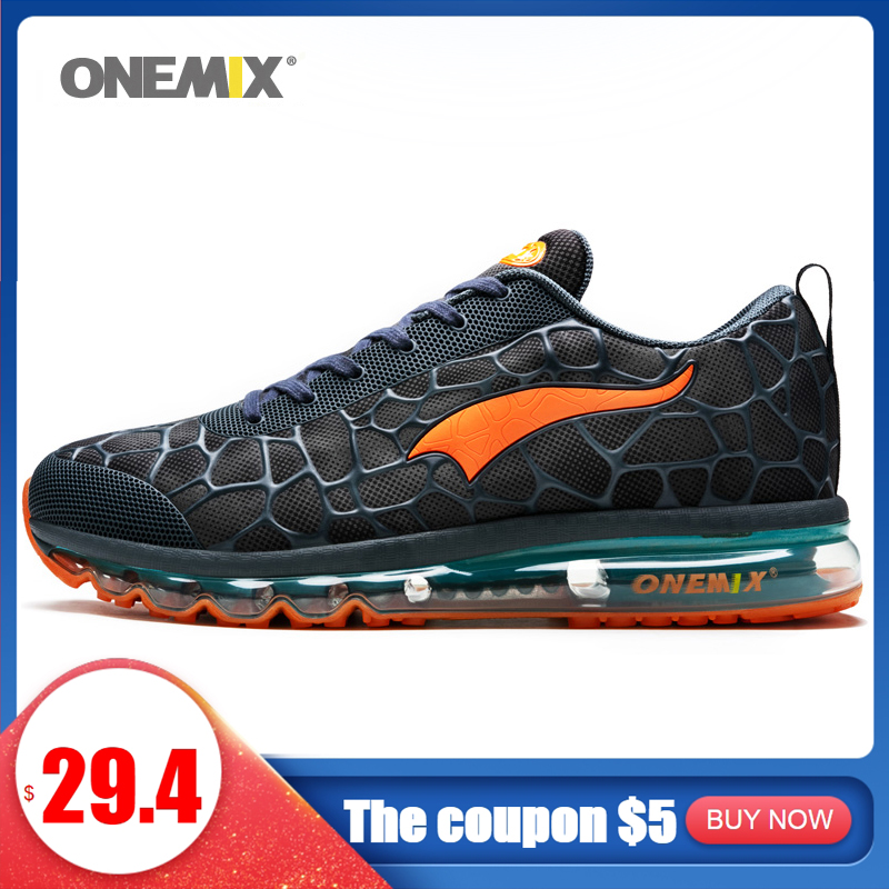 ONEMIX Running-Shoes Jogging Designer Air-Cushion Outdoor Mesh for Loafers 1096 Men's