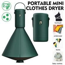 Portable Mini Clothes Dryer for Underwear, Socks, Panties, Vest, Fitness Clothes, Lingerie, Swimsuit, Baby Clothes