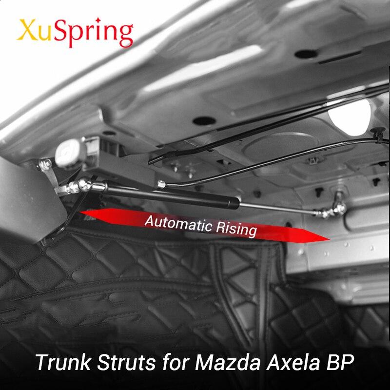 Için Mazda3 Mazda 3 Axela 2019 2020 BP tamir arka kapı bagaj bahar otomatik yükselen gaz payandası çubuklar kaldırma desteği çubuklar şekillendirici title=