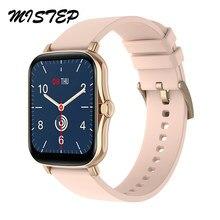 Tela de toque completa y20 relógio inteligente das mulheres dos homens ipx7 à prova dwaterproof água pressão arterial freqüência cardíaca fitness rastreador esporte smartwatch p8 plus