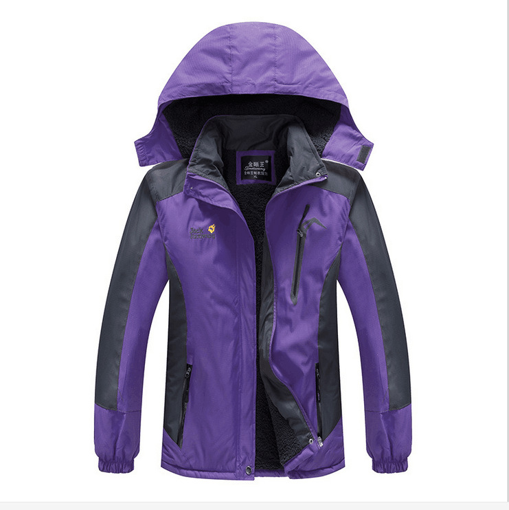 WOMEN'S Coat New Style Windproof Waterproof Mountain Climbing Clothing Outdoor Waterproof Jacket Single Model Women's