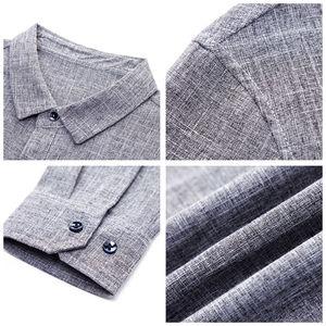 Image 5 - COODRONY ماركة الرجال قميص الأعمال قمصان غير رسمية الخريف طويلة الأكمام القطن قميص الرجال الملابس Camisa الذكور مع جيب 96093