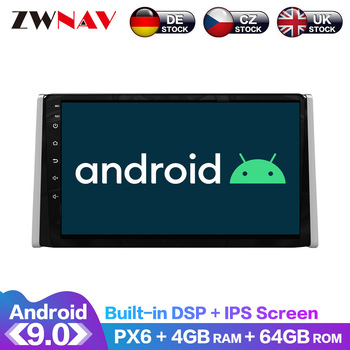 For Toyota RAV4 XA50 2018 2019 2020 Android IPS Screen PX6 DSP Car No DVD GPS Multimedia Player Head Unit Radio Navi Audio