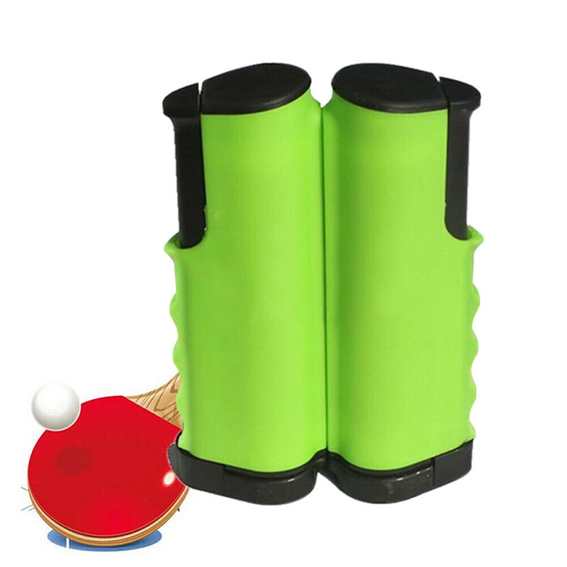 Retractable Table Tennis Net Simple Portable Anywhere Ping Pong Grid Replacement Kit Table Bracket Net For Any Table