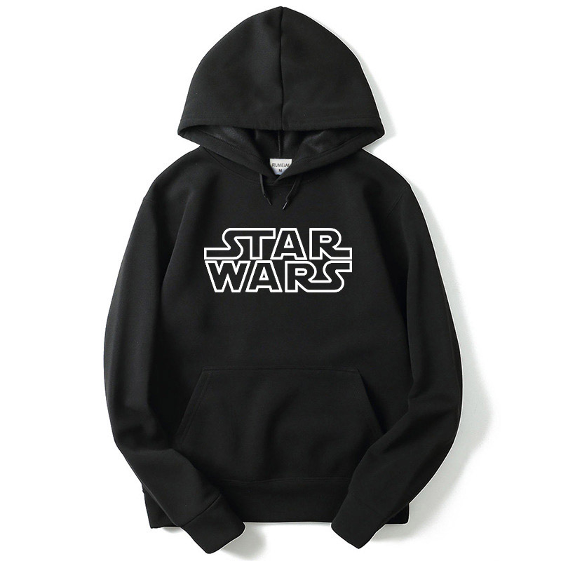 Men's Hoodie Star Wars Letter Print Sweatshirt Fashion Hipster Sportsuit Hip Hop Men Sweatshirt Champion Sweatshirt  Hoodie Men