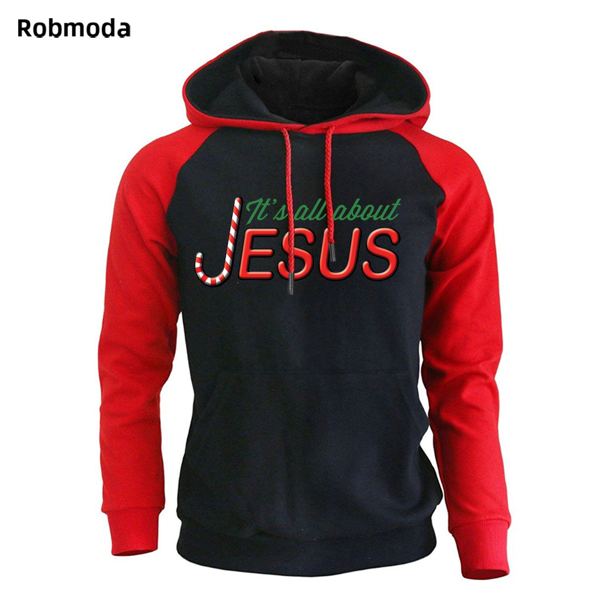 2019 men 39 s Hot sale clothing jesus Christmas letter print hooded sweatshirt Loose casual Sportswear Fleece pullovers hoodies in Hoodies amp Sweatshirts from Men 39 s Clothing
