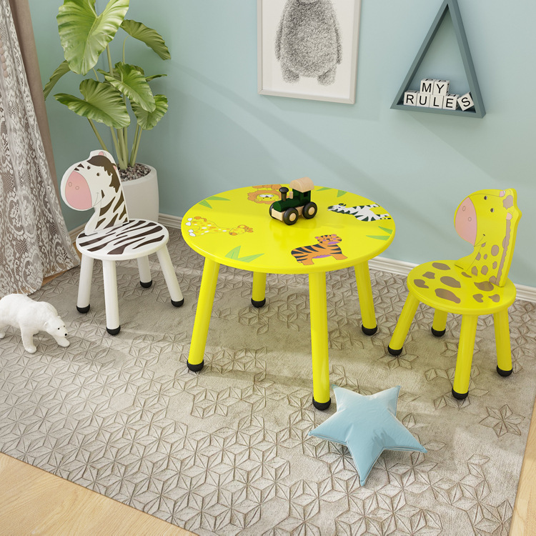Children's Desk And Chair Suit Home Kindergarten Table, Chair, Baby Game Table Children's Table Chair Suit Toy Table Chair For