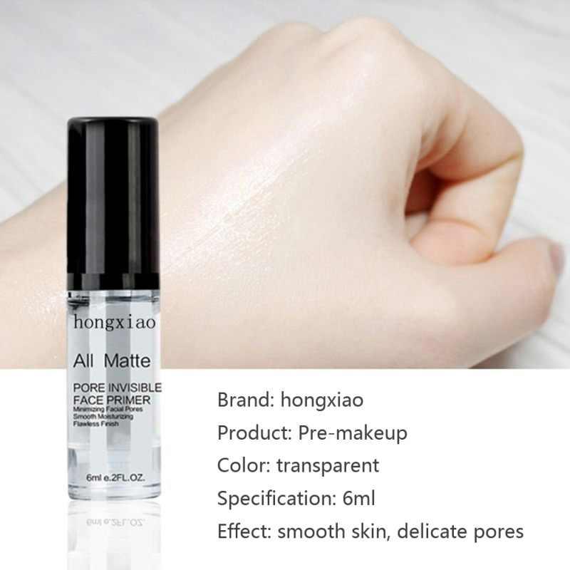 6ml podkład do makijażu nawilżający kurczący się pory kontrola oleju makijaż baza kosmetyczna E1