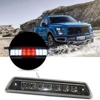 High Mount 3Rd Brake Light Red/White Led Smoke Lens 12V for Ford F150 2009 2010 2011 2012 2013 2014 Al3Z 13A613 E Fo20890104