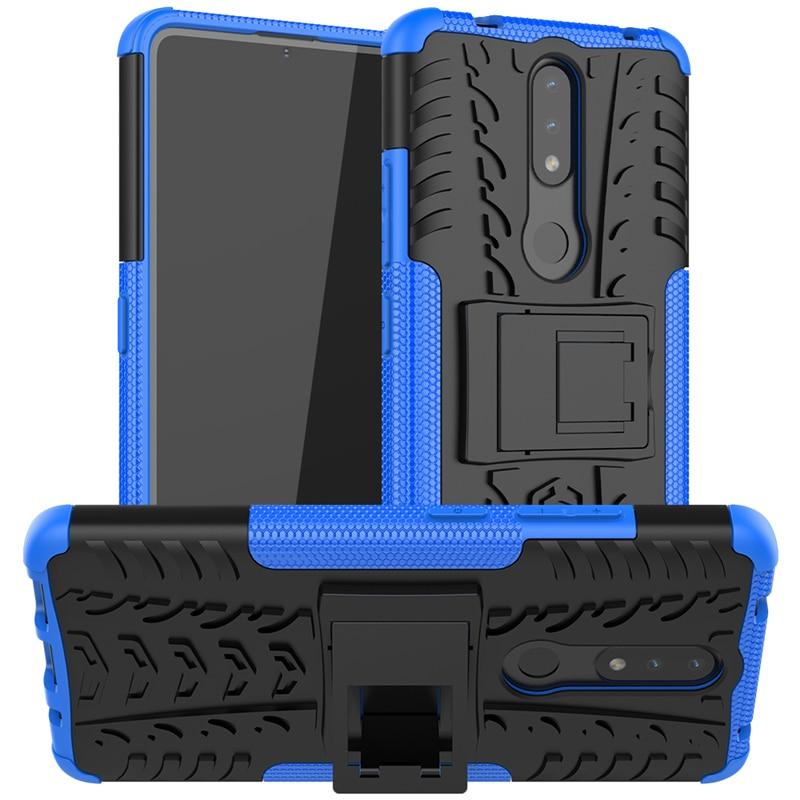 Чехол для Nokia 2,4, резиновый бампер, двухслойный противоударный армированный чехол из поликарбоната для Nokia 2,4, чехол для Nokia 2,4, чехол 6,5 дюйма