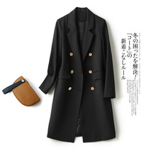 Women Autumn and Winter Hooded Jacket Coat Vintage Plus Size Cotton and Linen Wave Point Long Sleeve Pockets Zipper Overcoat