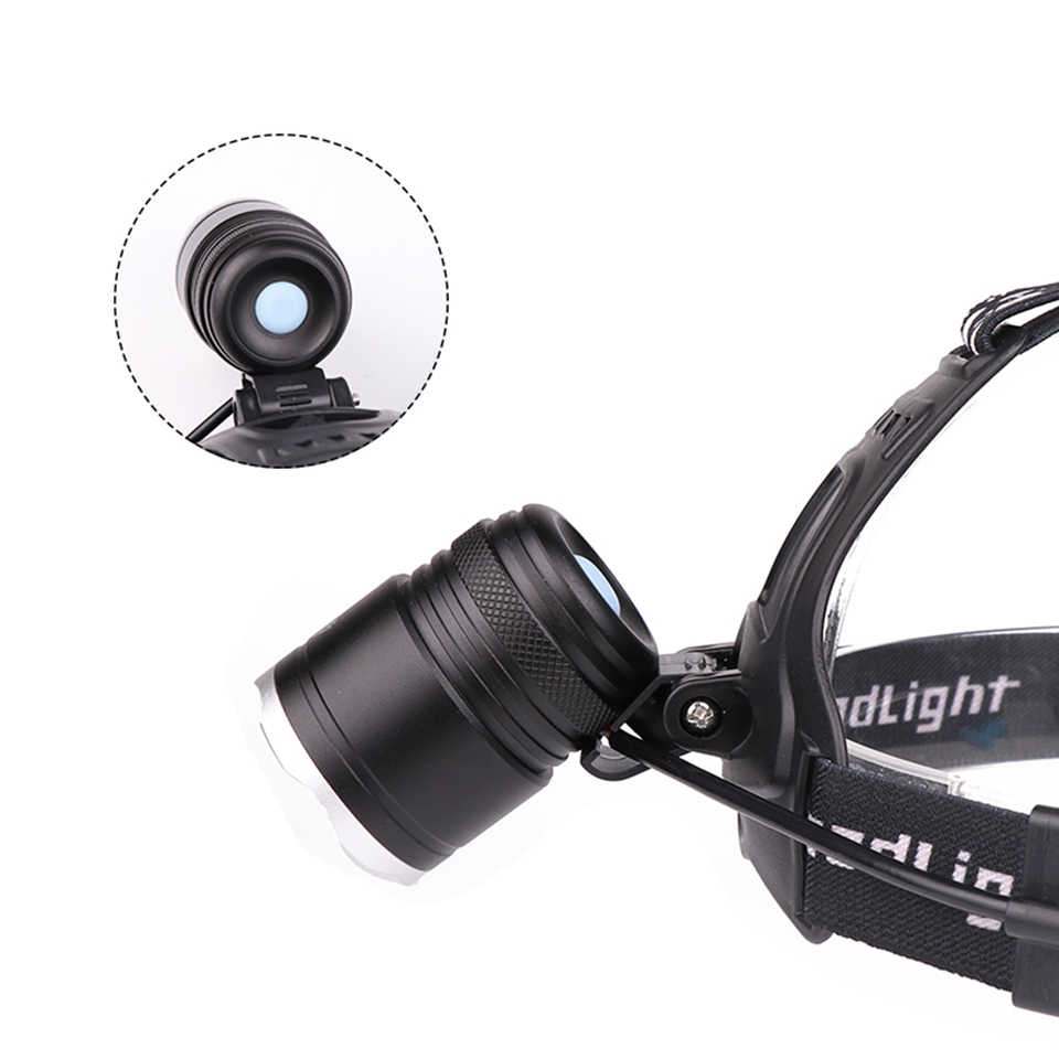 XHP70.2 CH2810 32W powerful Led headlamp zoom Headlight light XHP70 led head lamp flashlight torch Lantern for bike light