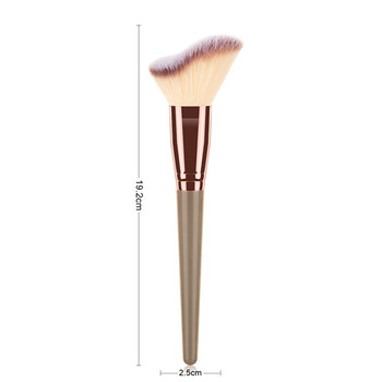 Makeup brushes for concealer Eyelash comb eyebrows Eyeshadows eye liner lip beauty women  Professional makeup full tools - NO 04