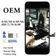 OEM Cho iPhone 6 6S 6P 6SP Màn Hình Cảm Ứng LCD Màn Hình Dành Cho Iphone 7 7P 8 8P 5 5 5S SE 5C Màn Hình Thay Thế Bộ Số Hóa